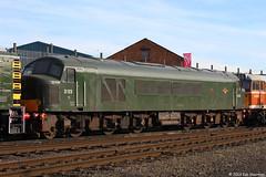 D123 (45125) 6th Oct 2013 Great Cental Railway Loughborough (Ian Sharman 1963) Tags: station train diesel great oct central engine peak railway loco class 45 loughborough 6th gcr 2013 d123 45125