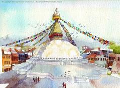 ฺBoudhanath stupa