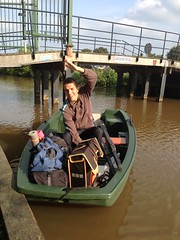 Jachthaven Ruimzich - roeiboot naar FKK terrein (TijsB) Tags: camping lake nature utrecht rowing fkk loosdrechtseplassen gaycouple naturists devierelementen tijsjoan naturistenvereniging