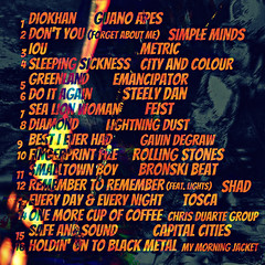 Holdin' On To Black Metal - 179 (Back) (Paul B0udreau) Tags: mix cd mixtape cover cdcover albumart linernotes