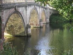 Clumber Park (louisejaynemunton) Tags: nottingham bridge england lake landscape nationaltrust nottinghamshire clumberpark takenin2013