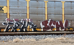 Epik    -    Ichabod (INTREPID IMAGES) Tags: street railroad color art train bench circle t graffiti fan paint steel painted sony graf tracks rail railway trains tags images 63 yme railcar intrepid writer boxcar graff ich freight rolling ichabod itd sfl paintedtrains fr8 epik benching railer autoraxx intrepidimages