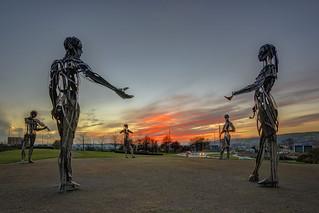 Welcome to Strabane - Millennium Sculpture