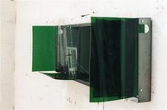 Triptik  ( 1999 ), plexy, nylon, acier, boulons, aimant. (emmanuelviard75) Tags: nylon mobilité acier plexy boulons