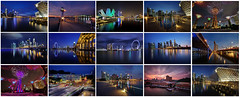 Night Shots 2013 (Ken Goh thanks for 2 Million views) Tags: lighting blue sky reflection nature water colors night marina landscape lights bay colorful long exposure pentax sigma hours sands 1020 k5 mbs citiscape