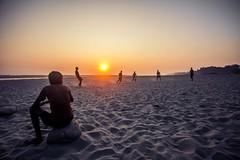 the 12th man... (Arry_B) Tags: sunset india beach river football village soccer riverbank assam canonef1740mmf4lusm brahmaputra tezpur