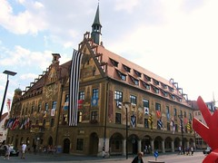 Ulm 1292 (mart.panzer) Tags: rathaus townhall ulm deutschland germany bestoff gerhardpanzer photos pictures impressions highlights city vacation holidays people mustsee top attractions scenic beautiful awesome bestof cities must see best