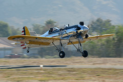 Ryan PT-22 Recruit (Trent Bell) Tags: california airport riverside ryan aircraft socal flyin recruit pt22 2013 flabob veteransdaycelebration