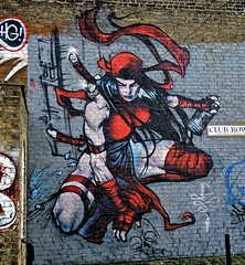 "Superhero(ine) (Terterian - A million+ views, thanks.) Tags: street uk red england urban abstract colour sexy london art public muscles promotion wall female club painting print poster graffiti freedom design amazon mural fighter grafitti message graphic artistic expression muscular contemporary secret capital creative january surreal social row hidden talent printing shoreditch graffitti superhero sword gb warrior imagination samurai spraypaint aggressive anonymous comment important 2014 art"" idiom superheroine ""street ""tower hamlets"""