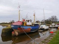 Kingholm Quay located on the River Nith was originally part of the port of Dumfries, the quay was built in 1747 (penlea1954) Tags: uk port river boats scotland ship harbour quay estuary solway firth dumfries galloway nith dumfriesshire fishhing kingholm scotlands