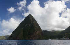 IMG_0157 (jaglazier) Tags: trees panorama mountains clouds islands landscapes seascapes january carribean cliffs forests stlucia volcanos deciduoustrees 2014 1614 lespitons copyright2014jamesaglazier