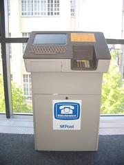 Deutsche Post Öffentliches Btx-Terminal 01 (KlausNahr) Tags: btx bildschirmtext