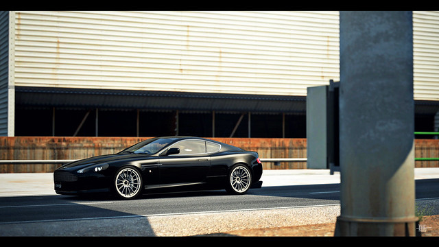 2006 astonmartin gt6 db9 photomode onyxblack