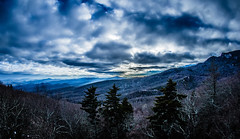 blue ridge parkway winter scenes (AgFineArtPhotography.com) Tags: road trip travel blue trees winter snow mountains ice ecology skyline forest season landscape drive woods highway frost view rustic north scenic peak brush erosion ridge evergreen national valley parkway carolina vista environment geology appalachian icy rime deciduous elevation distance range slippery slope rugged firs pisgah hardwoods brp tectonics