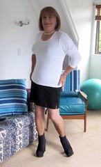 Black Slip (Trixy Deans) Tags: cute sexy classic cd crossdressing tgirl short tranny transgendered crossdresser shortskirts tg sexylegs transsexual shemale slips shortskirt sexyblonde tgirls shemales transvesite sexyheels sexytransvestite