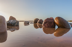 ROCKs (nalamanpics) Tags: seascape reflections rocks sharp symetry exmouth explored mygearandme mygearandmepremium photographyforrecreationeliteclub