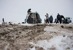 Expedition 38 Soyuz TMA-10M Landing (NASA Johnson) Tags: kazakhstan zhezkazgan roscosmosrussianfederalspaceagency expedition38 expedition38landing
