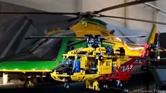 LEGO 9396 vs Elicottero Agusta Westland AW 109