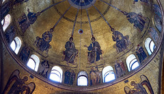 Crossing dome (close), Saint Mark's Basilica, Venice