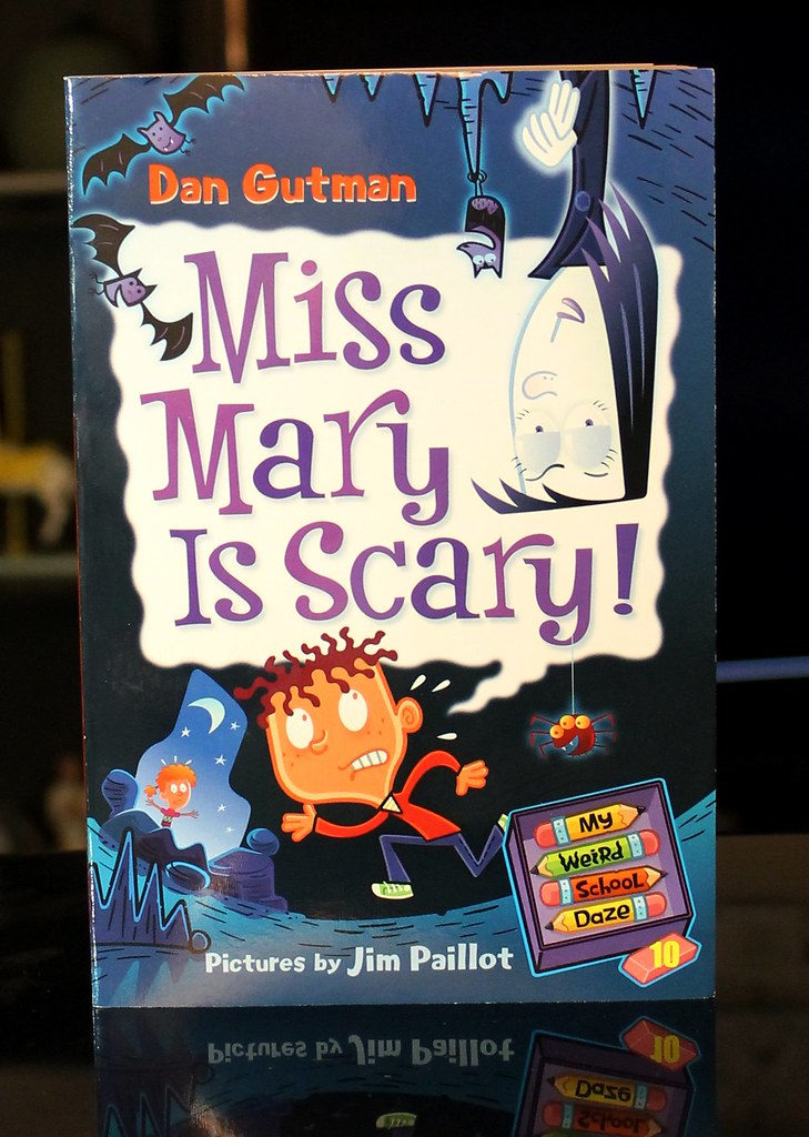 accaf8c9c1 Miss Mary is Scary! (Vernon Barford School Library) Tags  new school fiction