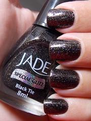 Black Tie - Jade (Natalia Breda) Tags: glitter preto jade esmaltenacional