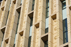 Best Building of 2014 - in The Netherlands (d_t_vos) Tags: windows sun building green lines yellow architecture arnhem 2014 rozet culturehouse cultuurhuis bestbuilding dickvos dtvos