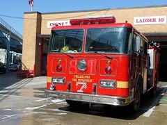 Philadelphia Fire Department Engine 905 (Canadian Emergency Buff) Tags: usa philadelphia america fire united engine 7 905 states spare e7 department dept seagrave pfd of e905