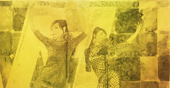 (Wang Ming Ren) That-Has-Been -Dance with Me   Chinese Ink on Paper  63x123cm 2011 (Wang Ming Ren ) Tags: horse moon art playground marilyn zoo star opera crystal contemporary palace disney pop monroe et panther artforum thathasbeen
