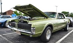 1967 Mercury Cougar (Chad Horwedel) Tags: classic car illinois mercury champaign cougar merc mercurycougar 1967mercurycougar hotrodpowertour2015