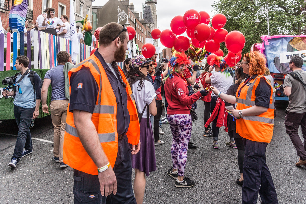 DUBLIN 2015 GAY PRIDE FESTIVAL [BEFORE THE ACTUAL PARADE] REF-106254