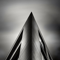 Wellington Place Leeds (SmilerSmiles) Tags: uk longexposure greatbritain england blackandwhite monochrome fineart leeds westyorkshire wellingtonplace weldingglass architecturephotography