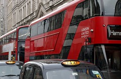 Noah's London...2 by 2 (markwilkins64) Tags: london londonbuses londontaxis buses taxis architecture