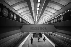 Excelsior (lucasevmiller) Tags: subway newyorkcity qtrain blackandwhite uppereastside