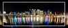 Darling Harbour - Sydney (~Inspire~Me~) Tags: darling harbour harbor sydney australia samyang 8mm sea skyscapers lights beautiful beauty impressedbeauty life~asiseeit light landscape general art beach bridge night low sony sonya77 a77 slow shutter silky water