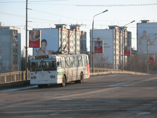 Tula trolleybus 85 ЗиУ-682Г-012 [Г0А] build in 2000, withdrawn in 2015