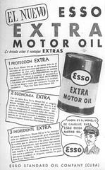 ANUNCIO ESSO Motor Oil    Julio/12/1949 (ROGALI) Tags: anuncio essomotoroil aceite aceitedemotor esso cuba rogali