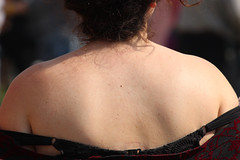 girl back closeup (320828282) Tags: woman hot girl closeup female back skin body bra sunny strap