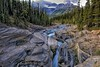 Mistaya Gorge (Philip Kuntz) Tags: canada bravo explore alberta gorges slotcanyon peytolake icefieldsparkway mistayacanyon banffpark notanhdr mistayariver mtsarbach mistayagorge