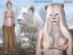 Lioness Malkia - Avatar (Alea Lamont) Tags: animal cat african avatar tail lion ears whiskers neko lioness afrikan ndmd