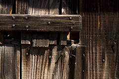 cabane-1 (christophe surman) Tags: door wood old nail porte bois vieux arcachon cabane clou