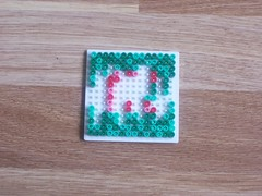 hellocatfood - C (hellocatfood) Tags: animation alphabet hamabeads hellocatfood