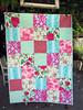 Amy's quilt (sewfunbymonique) Tags: quilt poodle patchwork happyland dancewithme sisboom jenniferpaganelli amandafleur
