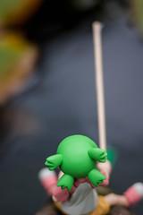 Let's go fishing (Pasc_Lightyear) Tags: summer anime garden toy outside fishing sony manga 85mm figure rod dslr yotsuba revoltech