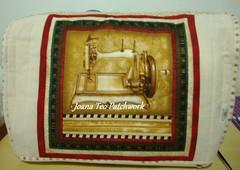 Capa de máquina de Costura (Joana Teo - Artesanato & Patchwork) Tags: de capa máquina tecido costura importado capademáquinadecostura joanateopatchwork joanateo