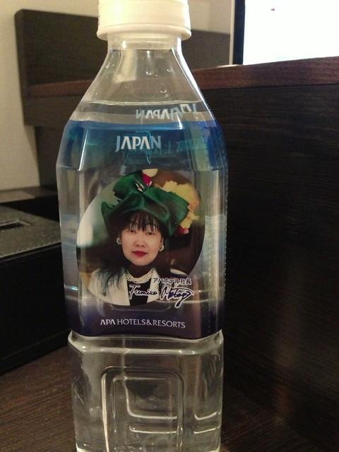 APA Hotel water