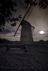 """Bidston Windmill"" (Moon Lit Night) (Ray Mcbride Photography) Tags: windmill bidstonhill bidstonwindmill"