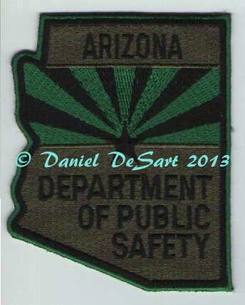 Arizona Department of Public Safety (Subdued Variation)