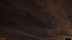 Perseid Meteor Shower 2013 (Tom Wildoner) Tags: summer sky night canon stars paintshop timelapse time august astrophotography astronomy nightsky universe fireball meteor lapse pleiades corel meteorshower perseid samyang 2013 tomwildoner perseid2013