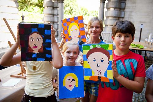 Schilder je eigen portret in het Rubenshuis (c) Noortje Palmers-54