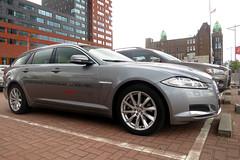 Jaguar XF Sportbrake (FaceMePLS) Tags: auto car wagon rotterdam break nederland thenetherlands streetphotography voiture madeinengland straatfotografie facemepls canonpowershots100 5deurs jagerautoheemskerk